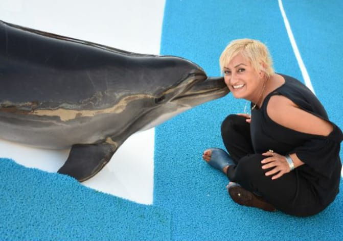 Delfintherapie